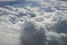 my own pictures of clouds. / by Connie Boring