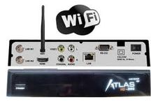 Receptores>CRISTOR ATLAS HD 200S (2 SAT) + wifi integrado + cable hdmi