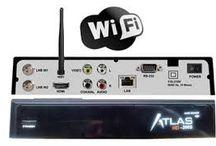 Receptores>CRISTOR ATLAS HD 200S (2 SAT) + wifi integrado + cable hdmi