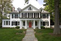 classic wood american houses