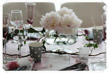 """table """"Passions pivoines"""""""