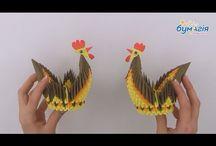 origami Wielkanoc