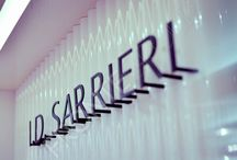 I. D. Sarrieri La Fayette PARIS / Custom made furniture for ID Sarrieri store in La Fayette Galleries - Paris. #furniture #storefurniture #store