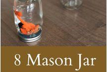 Mason Jar - hacks, crafts, recipes & DIY's / Love Mason Jars? Here are hacks, crafts, recipes and DIY's you can do with mason jars.