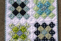 Mini Quilts / Beautiful quilts in miniature form.
