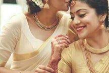south Indian saree...
