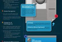 Web & Marketing / infographies sur le web, le marketing ou le seo