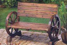 kola drevená