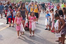 Twinsburg-Ohio Twin Festival held  1st  full weekend August every year :)