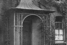 Georgian entrance