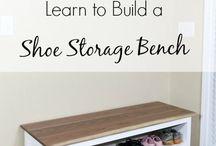 Entryway- shoe cabinet