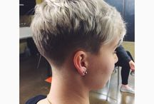 Short hairstyles / Finding the elusive perfect hairstyle for me and my thin, fine hair.  It's not as easy as you think it would be - something always gets list in translation.  / by Martha Hughes