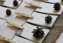 precious place cards / by lillie's flowers for weddings and celebrations