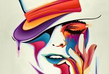 Art Mixed Media / by Donna Burkhead