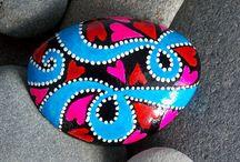 causes painted rocks