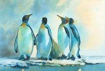 Penguins!!!!! / Just to make me happy! / by Karen O'Hara