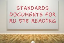 School Library Standards Documents / RU 575 collaborative board for sharing standards documents