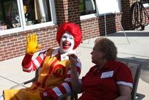 Ronald McDonald Himself!
