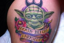 Star Wars Tattoo / Star Wars Tattoo Inspired by Epic Star Wars and Characters.