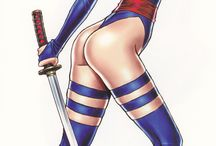 Psylocke marvel comics