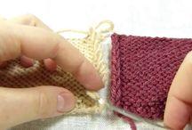 Век живи - век учись вязать! / о необычных или редких приёмах в вязании