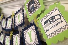 Mason's Birthday - Seahawks / by Debi Hewitt