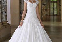 Suknia mieszana balowa