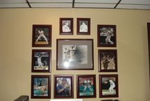 Sports memoribilia/cave / Home sports bar and memoribila ideas for my man cave on day