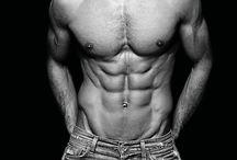 bulky man