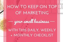Marketing / Marketing advice, tips, and strategy for small business, online business, service-based businesses, solopreneurs, and creative entrepreneurs
