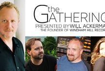 """Forthcoming """"The Gathering Concerts"""" / THE GATHERING, presented by Will Ackerman, the founder of Windham Hill Records, continues the legacy of this Grammy winning guitarist, composer and producer.   / by Kori Linae Carothers"""