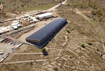 hangar caravane photovoltaique ardèche lablachère 07230