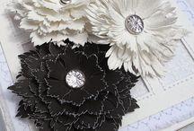 Flower paper templatev
