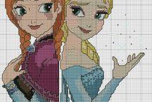 Elsa y Ana