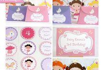 Princess Party Ideas / Inspirational Ideas for a Princess Party!