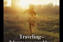 Travel quotes / quotes for an inspired life of travel