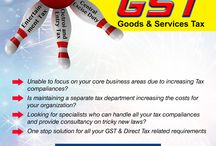 Good services tax in India