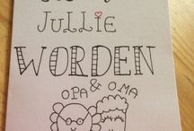 Handlettering made by