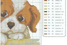 Keresztszemes minták (kutya)