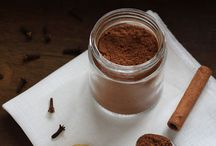 baking and spice / homemade and/or substitute for processed sugar or gluten