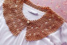 Collares y Cuellos a Crochet