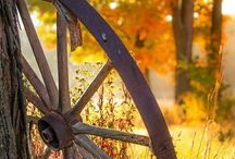 Landscape Country * Farmhouse Art * / Landscape Wonderful Country Land *