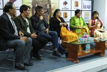 iLead Welcomes Mr. Prakash Jha at iLead Campus / The aim of the visit was to participate in a panel discussion on the difficulties faced by a woman police officer in the predominantly patriarchal society.