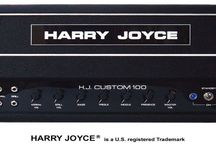 Harry Joyce Custom 100 Watt Guitar Amplifier / Experience the power and tone of the majestic 100 watt amp from Iconic amp builder Harry Joyce. We have made some dramatic improvements offering power and great tone. Made from only the finest components and made in the USA. Visit HarryJoyce.com