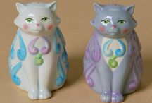Salt and pepper shakers / Beautiful salt and pepper shakers.  / by Stephanie Perry