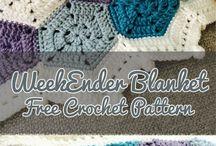 Weekend crochet blanket.