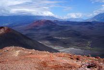 Камчатские истории / Вулканы, горы, океан.