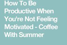 Motivation themes