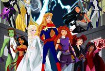 Princesa De Disney y marvel