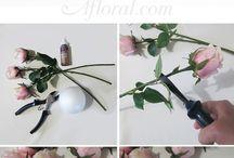 Boule de fleurs ORIGAMI